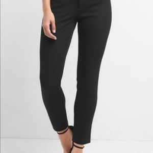 Gap Ankle Skinny Dress Pants  Black